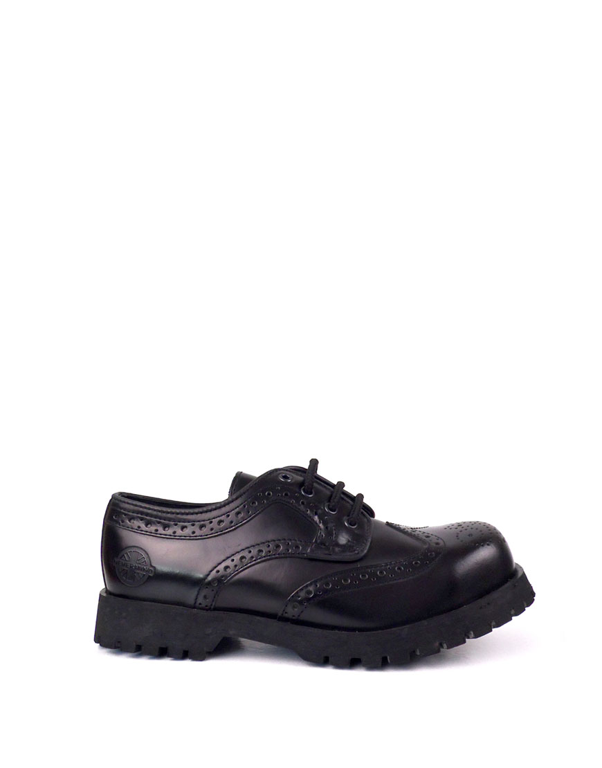 Leather Brogues Steel Toe Leather Shoes